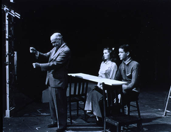 """a review of thornton wilders our town Plot summary """"no curtain no scenery"""" a minimalist theatrical style sets apart the 1938 recipient of the pulitzer prize for drama: thornton wilder's our town."""