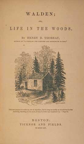 Henry David Thoreau's Walden Free Essay Sample